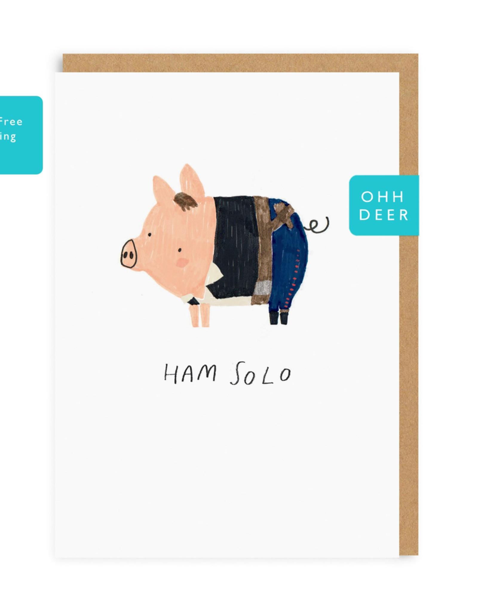 Ham Solo Card