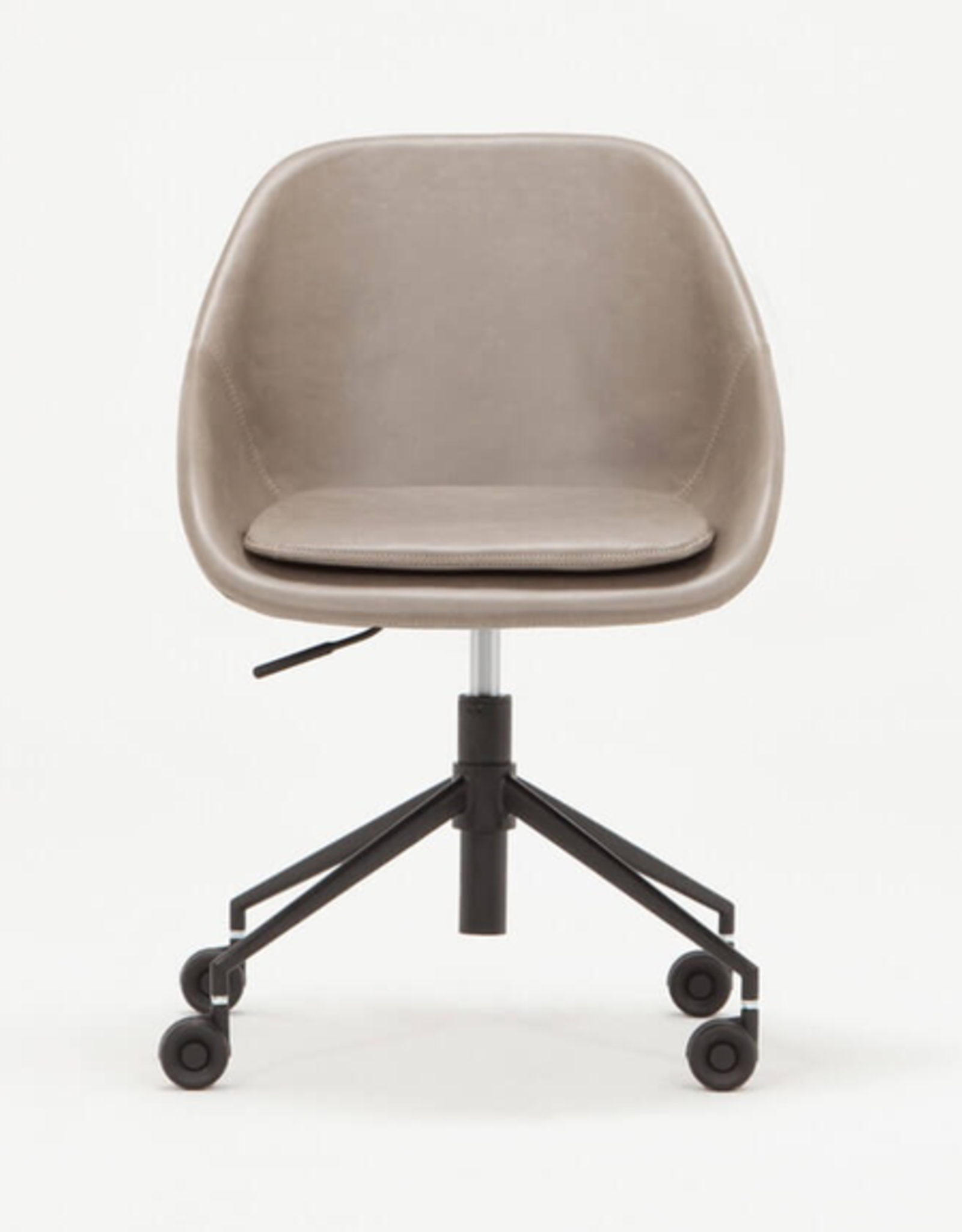 EQ3 Nixon Office Chair - Grey Leather