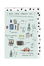 New Home Starter Kit Card
