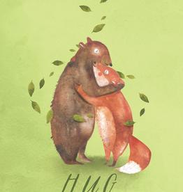 Critter Hug Card