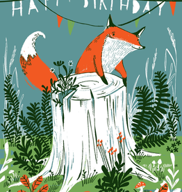 Fox Stump Card