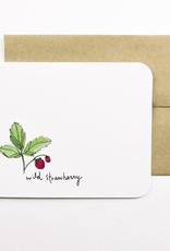 Wild Strawberry Card