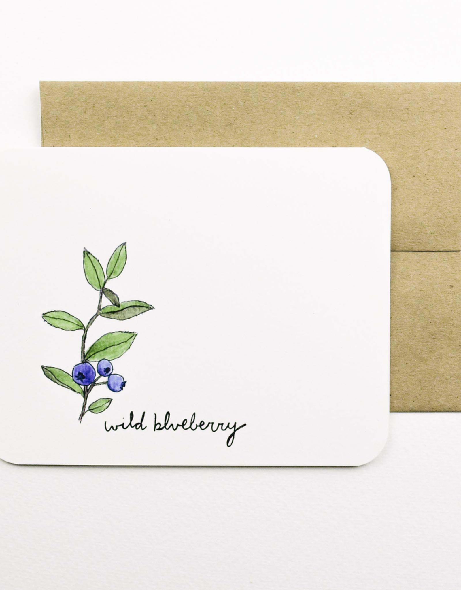 Wild Blueberry Card