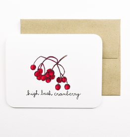 High Bush Cranberry Card
