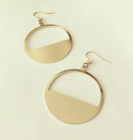 Jilke Earrings, Brass