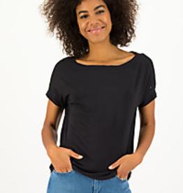 Flowgirl Organic Cotton Black Top