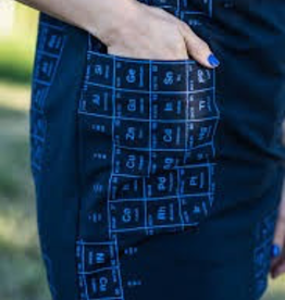 Smoking Lily Verbatim Tunic - Periodic Table Print
