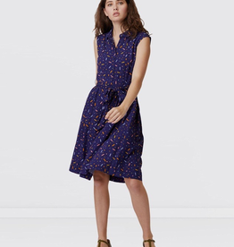 Monica Dress - Blue Sprinkles
