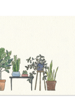 Houseplants Mini Note - Set of 12