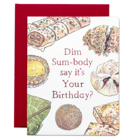 Dim Sum Birthday Card