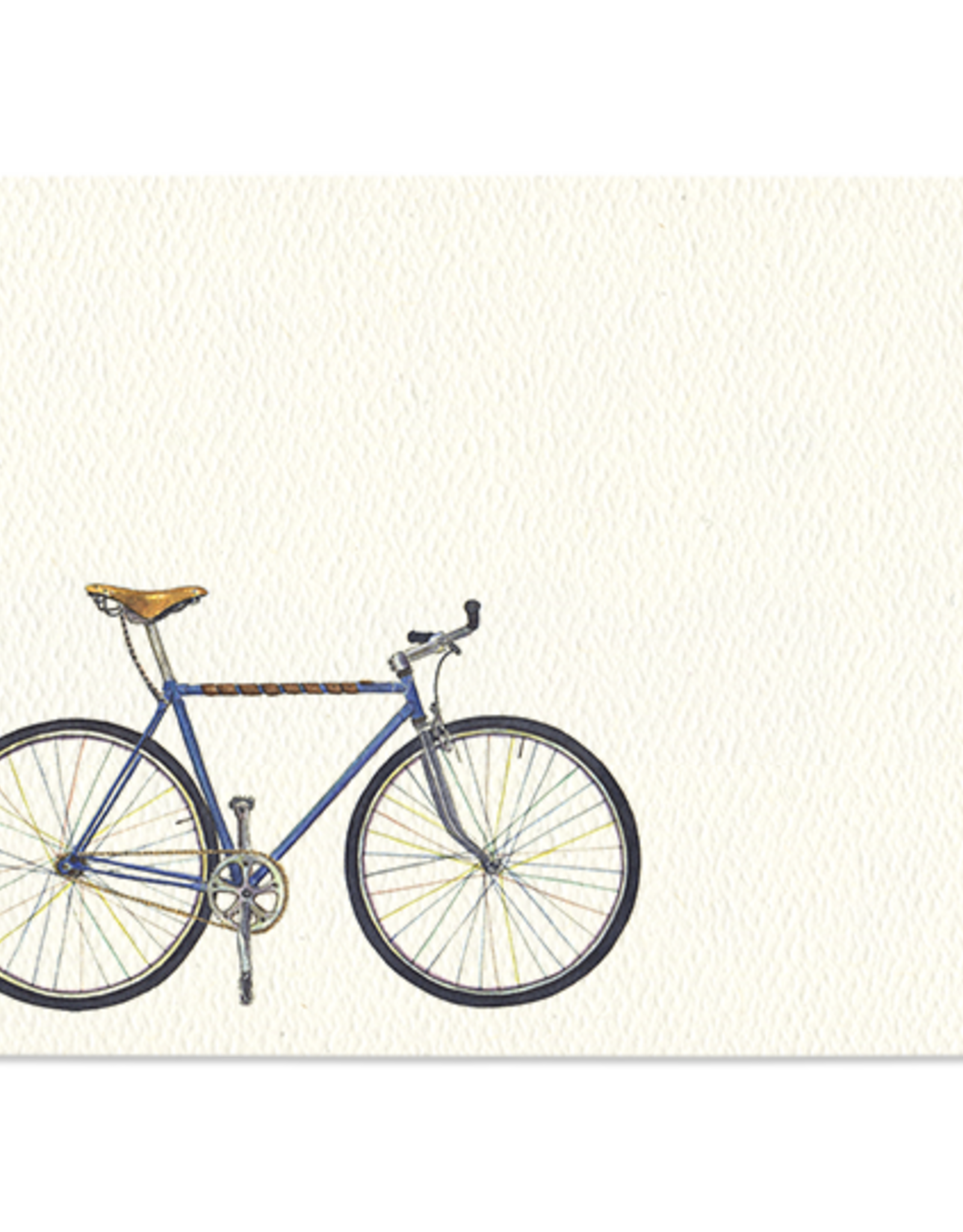 Blue Bike Mini Note - Set of 12