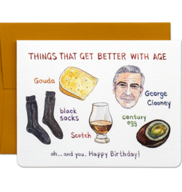 Better With Age Card