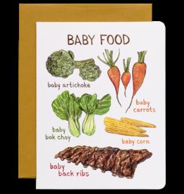 Baby Food Card