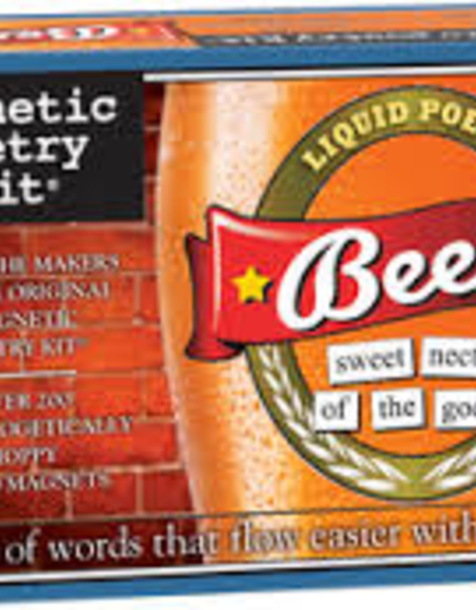 Beer Magnetic Poetry