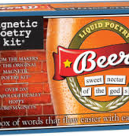 Beer Magnetic Poetry