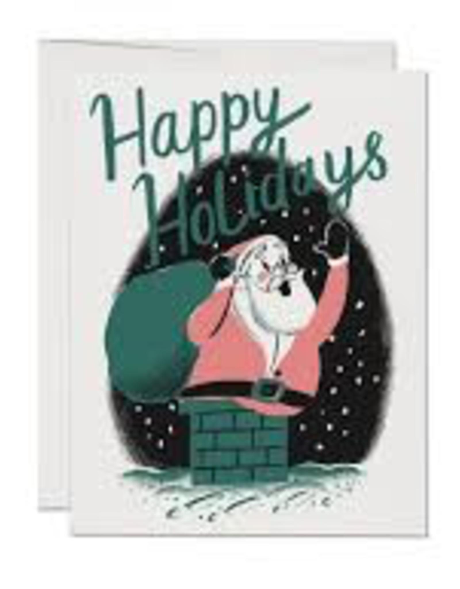 Happy Holidays Retro Santa Set//8