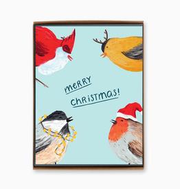 Christmas Birds Set/8