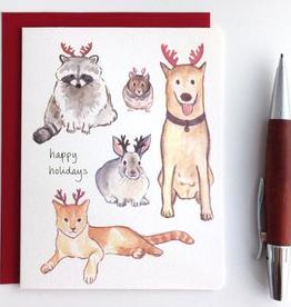 Holiday Antlers, Set/8