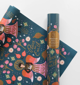 Rifle Paper Peace on Earth Wrap