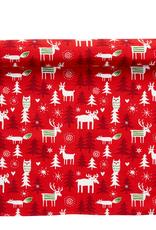 Swedish Christmas Forest Table Runner