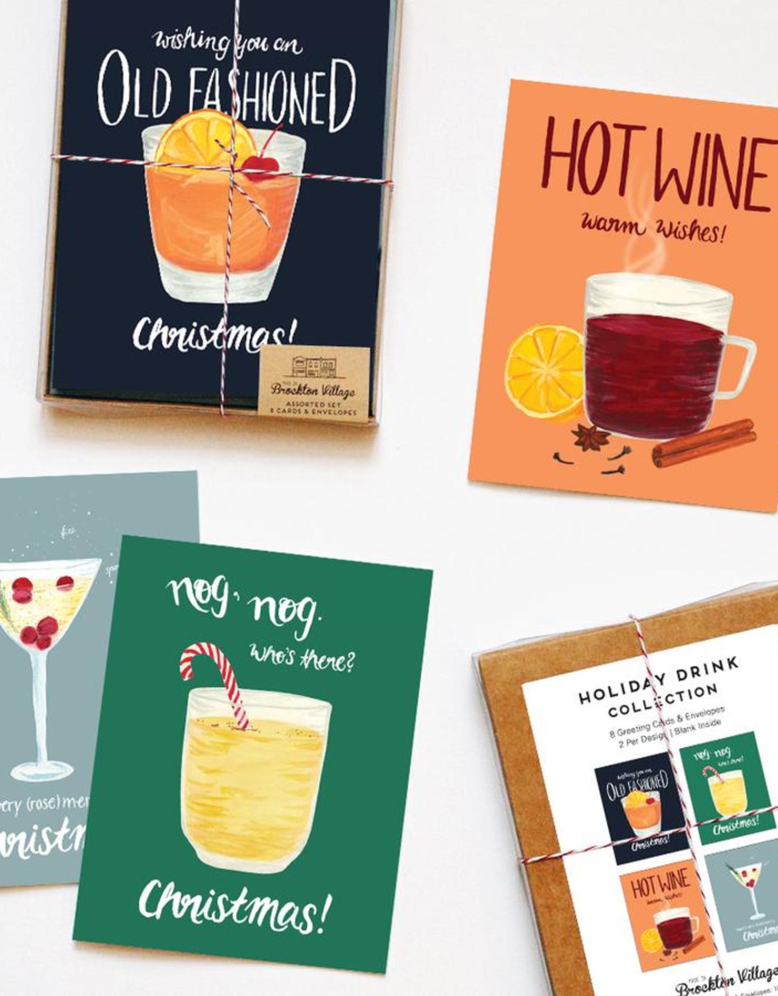 Drink Cards Assorted Set, 8