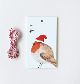 Winter Birds Assorted Gift Tags, set