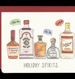 Holiday Spirits Mini Card (Single)