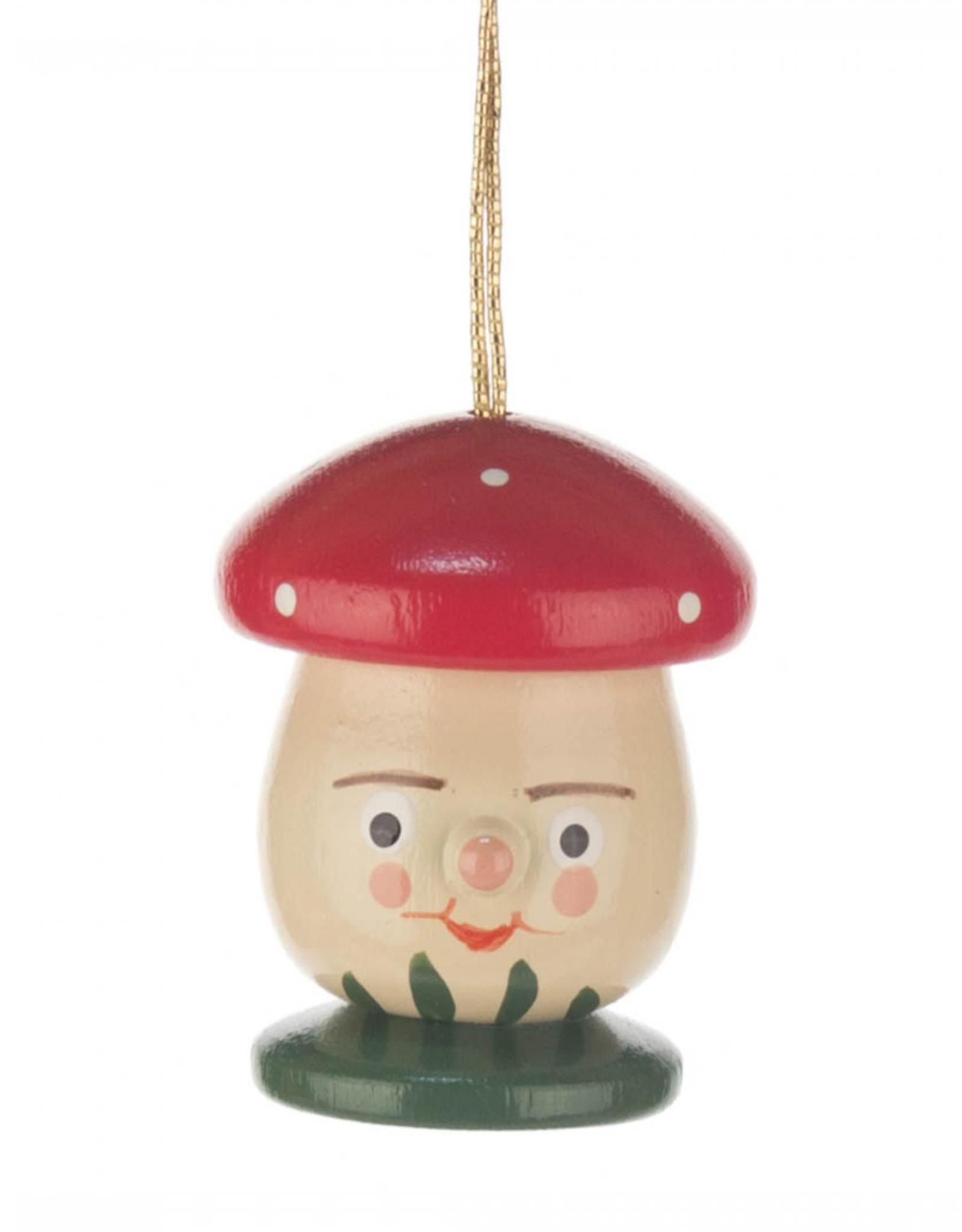 Wooden Mushroom Face