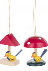 Bird House Ornament (Single) - Assorted Designs