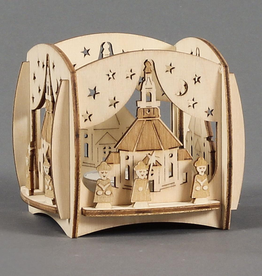 Tealight Holder With Carolers