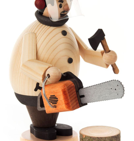 Smoking Man (Incense Burner) W Chainsaw