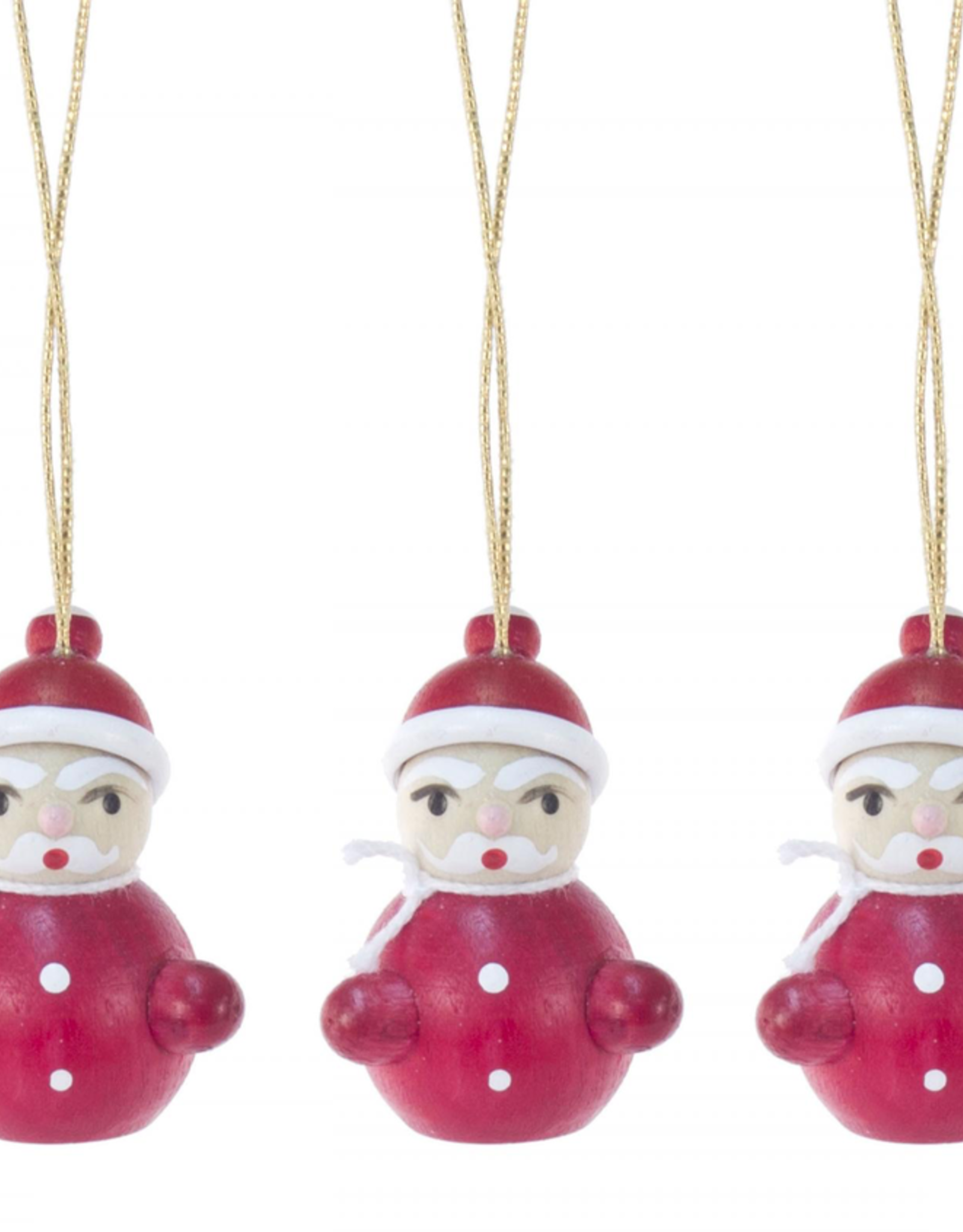 Wee Santa Ornament (Single)