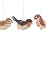 Bird Ornament (Single) Assorted