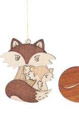Fox Ornament (Single) Assorted