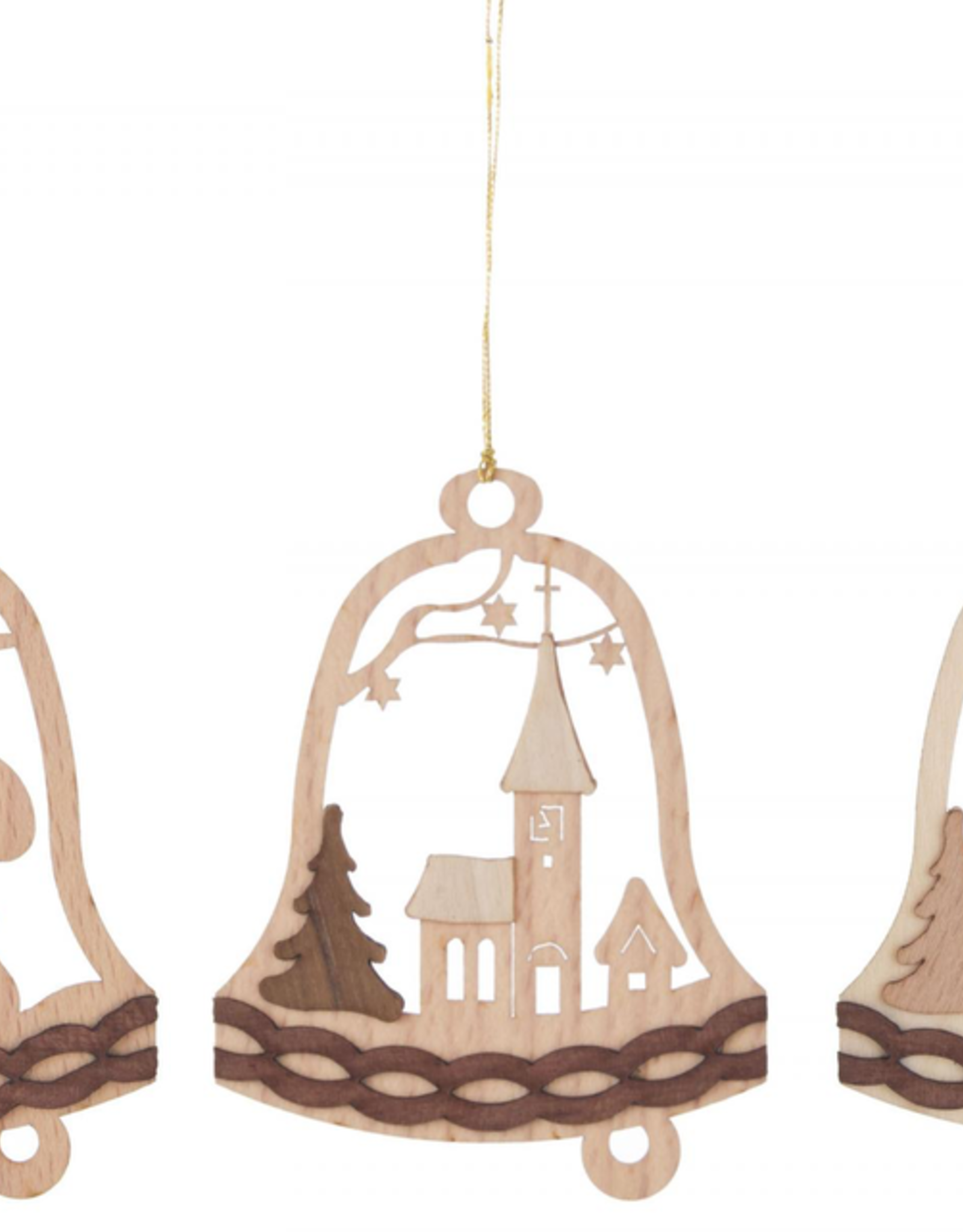 Bell Ornament (Single) Assorted