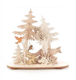 Tealight Holder Forest Animals