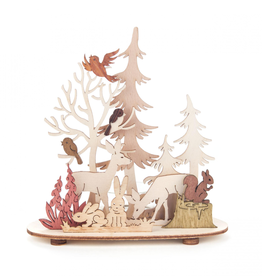 Tealight Holder Forest & Meadow