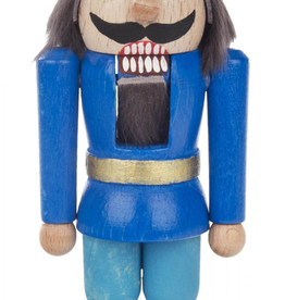 DIY Kit Nutcracker King, Blue