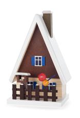 Smoking House (Incense) Birdhouse 16cm x 10cm