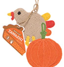 Thanksgiving Tawashi Pot Scrubber