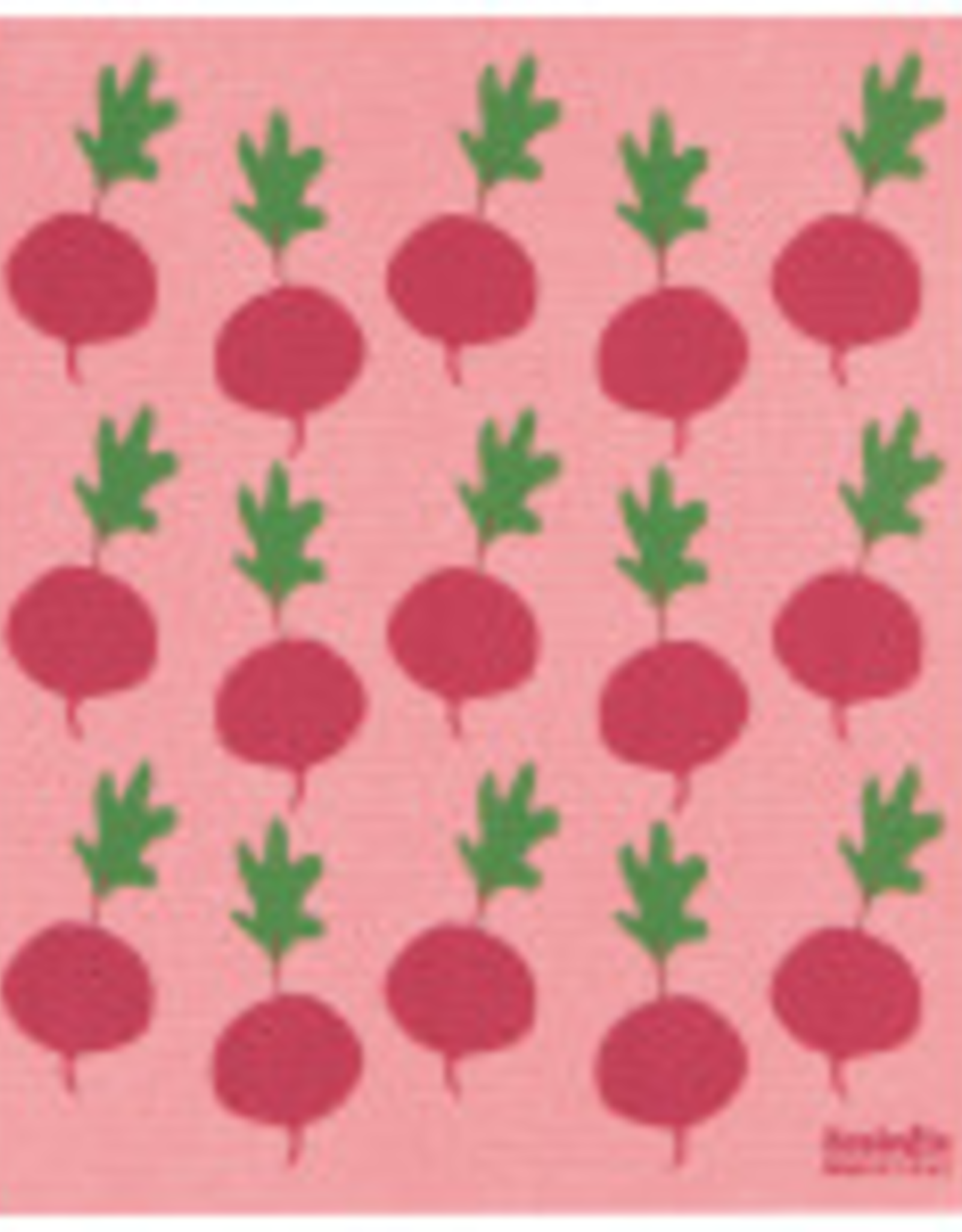 Radishes Swedish DIsh Towel