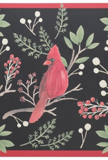 Winter Birds Cork Backed Placemats, Set 4