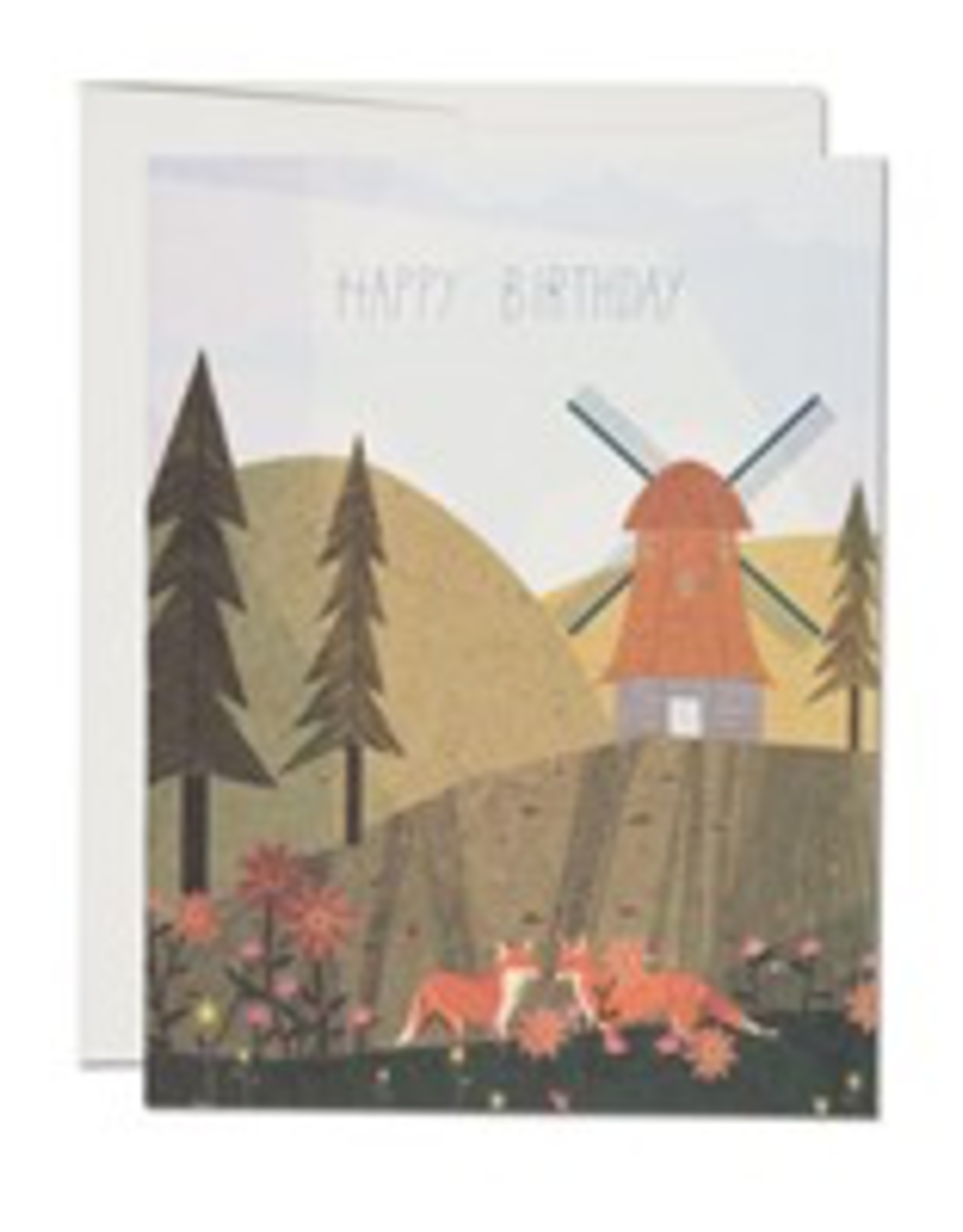 Windmill Foxes Birthday