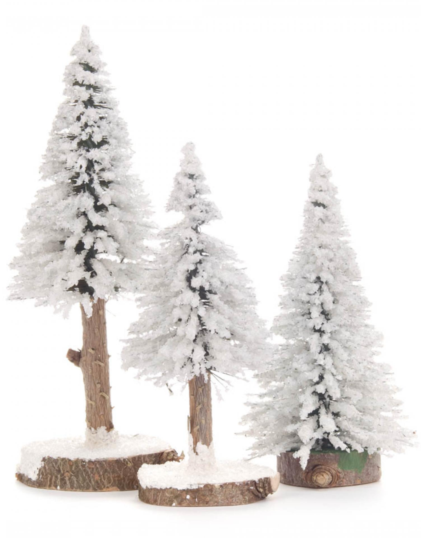 Spruce Trees - White Set/3