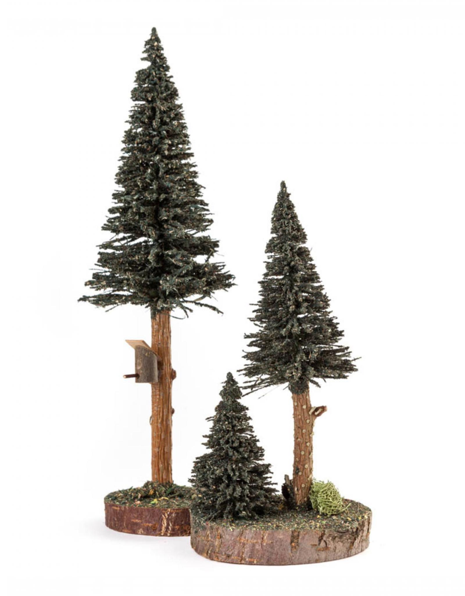 Tree Set/2 With Birdhouse 20-27 cm
