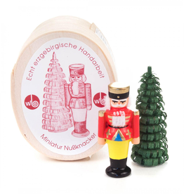 Miniature Chip Box Set Nutcracker & Tree