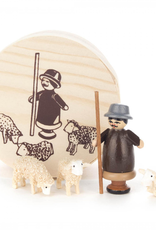 Miniature Chip Box Set Shepherd W. Sheep