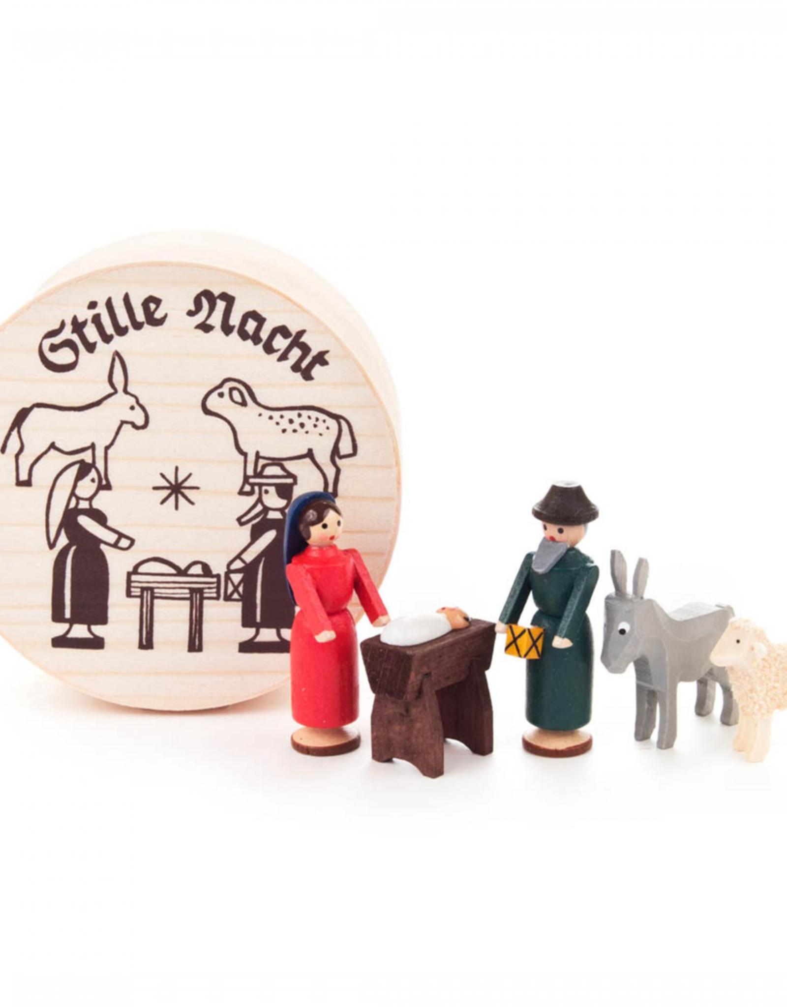 Miniature Chip Box Set Nativity Scene