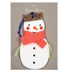 Snowman Felt Decoration