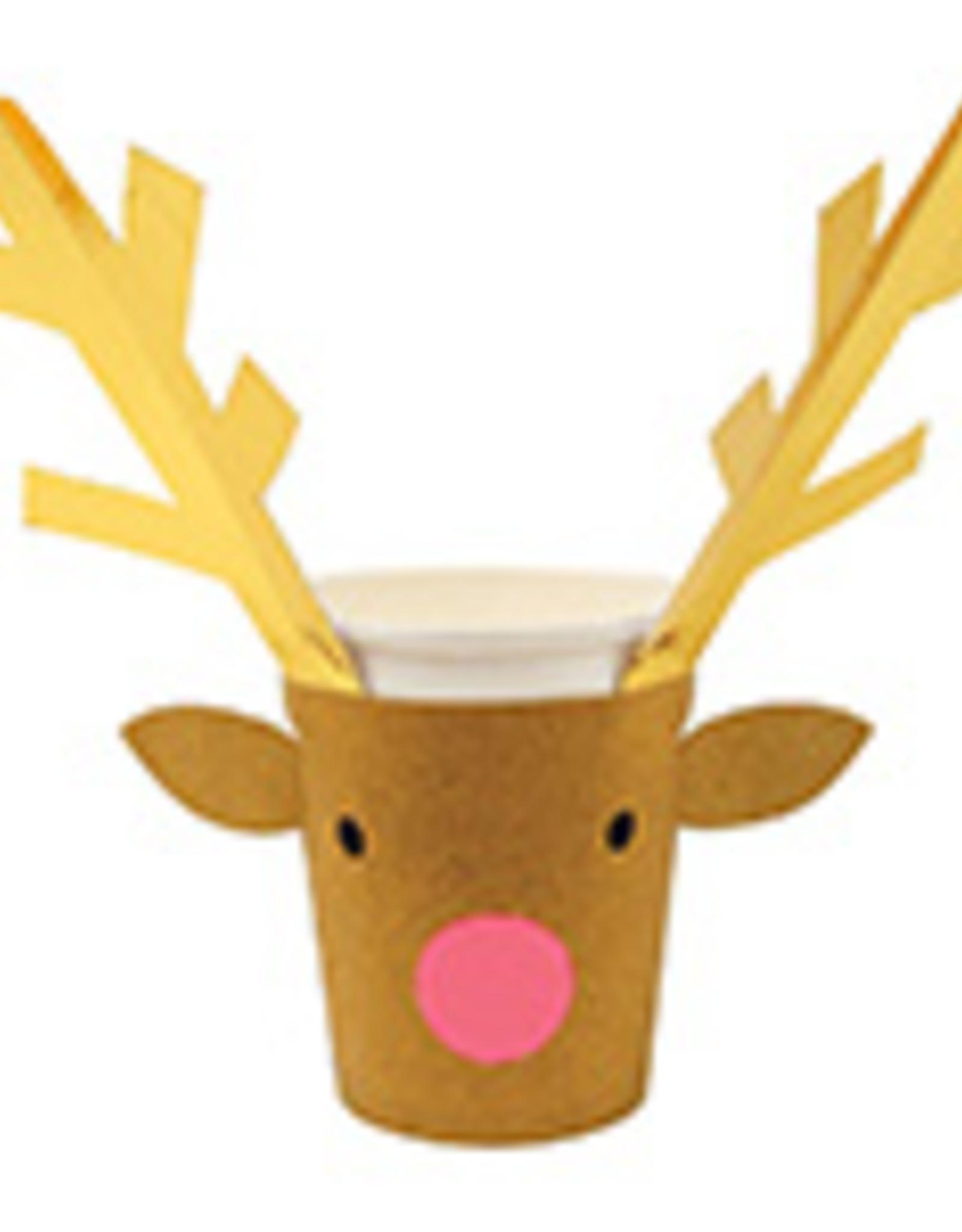 Reindeer Paper Cups
